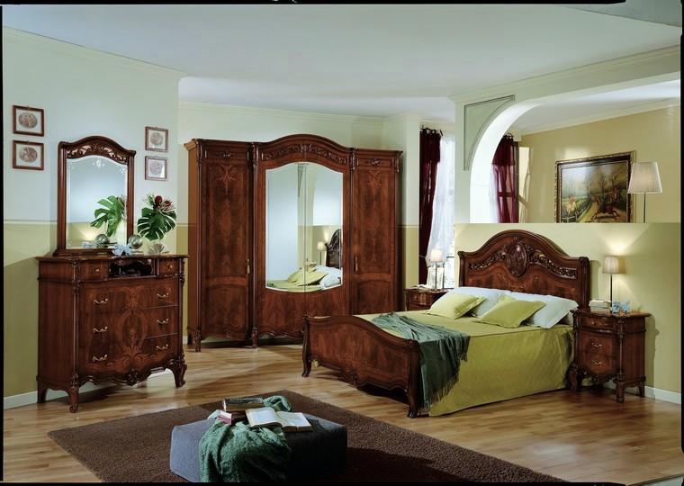 Camere da letto collezione elisabeth noce avorio - Camera da letto in noce ...