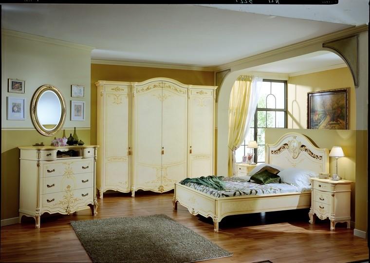 Camere da letto | Collezione ELISABETH Noce-Avorio