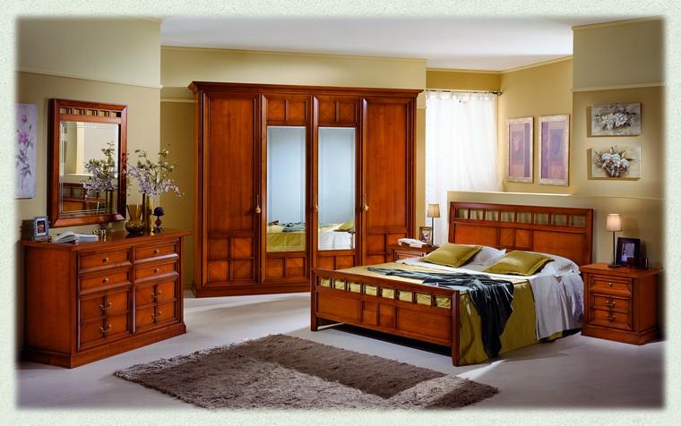 camere da letto collezione virginia ciliegio